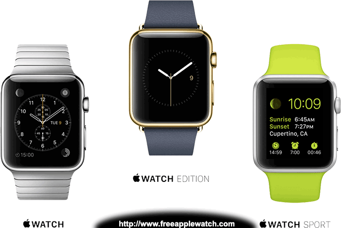 Free Apple Watch Giveaway Contest