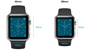 Apple Watch Screen Sizes and Resolution